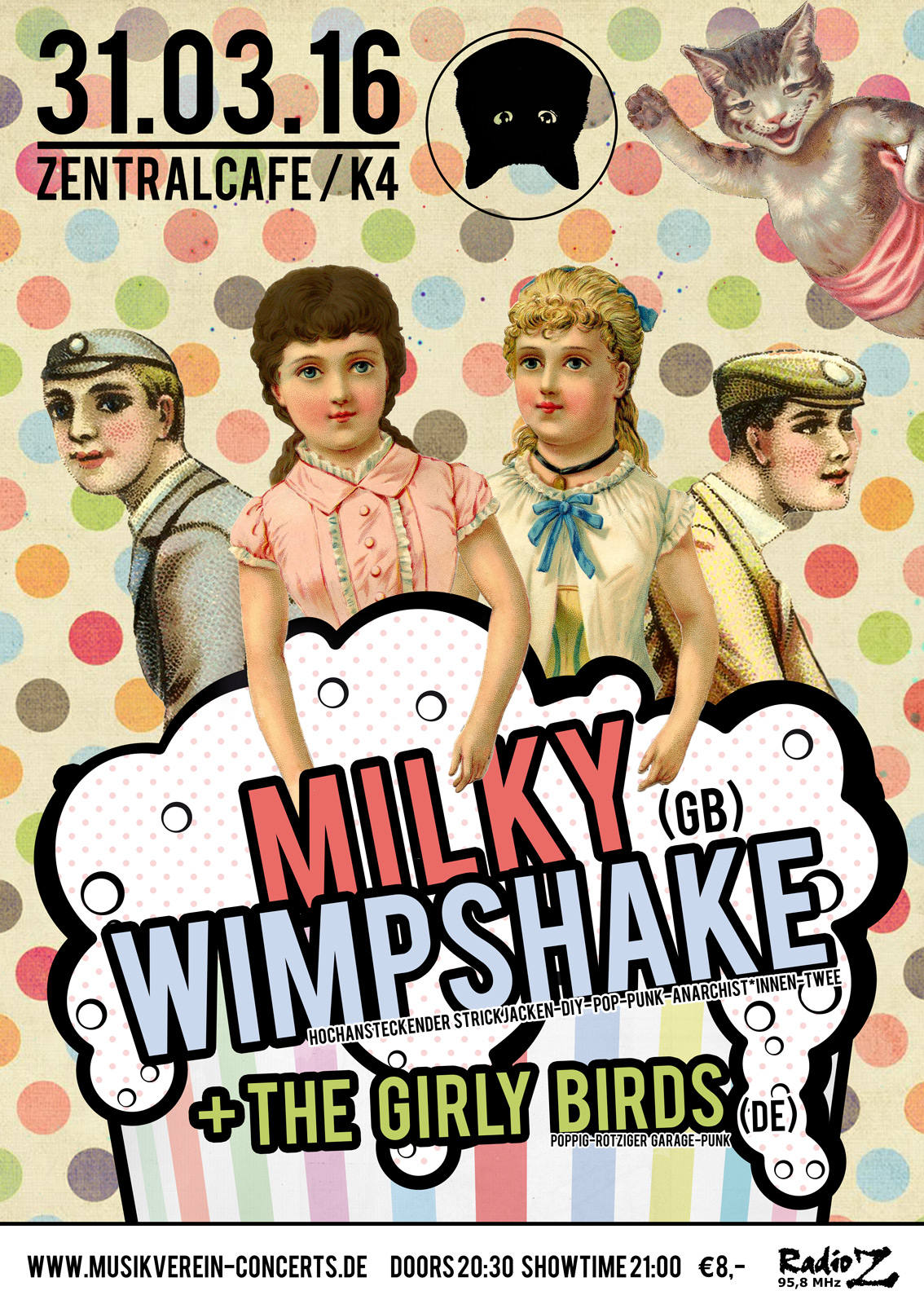 Show poster Milky Wimpshake | © Juliane Schütz