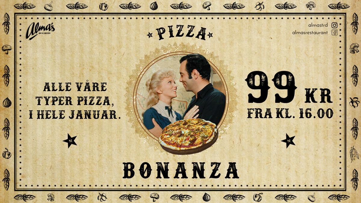 Alma's Pizza Bonanza