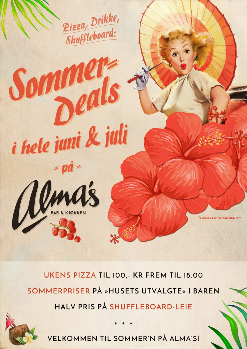 Alma's Sommer Deals