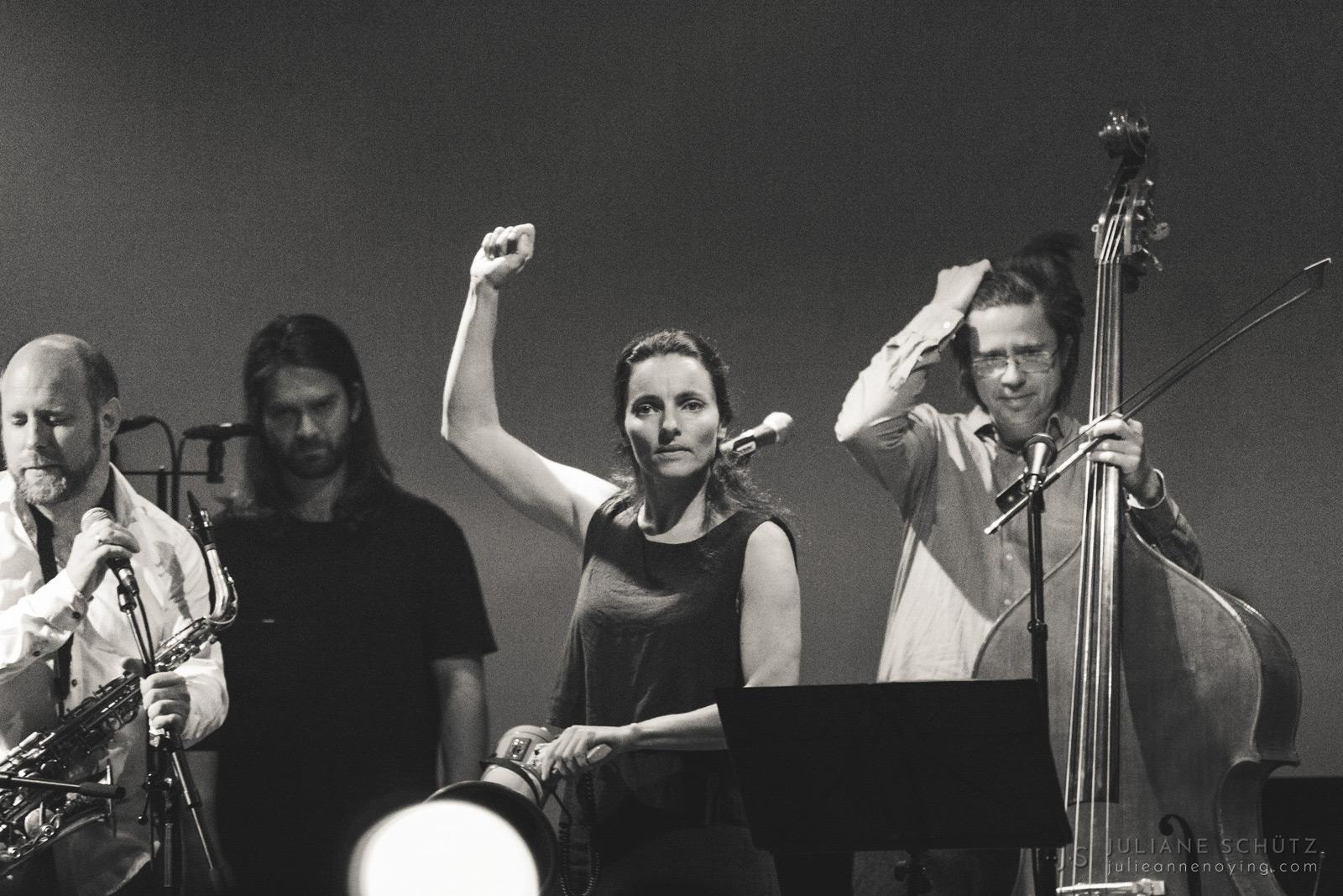 POING & Maja S. K. Ratkje @ Dokkhuset | © Juliane Schütz