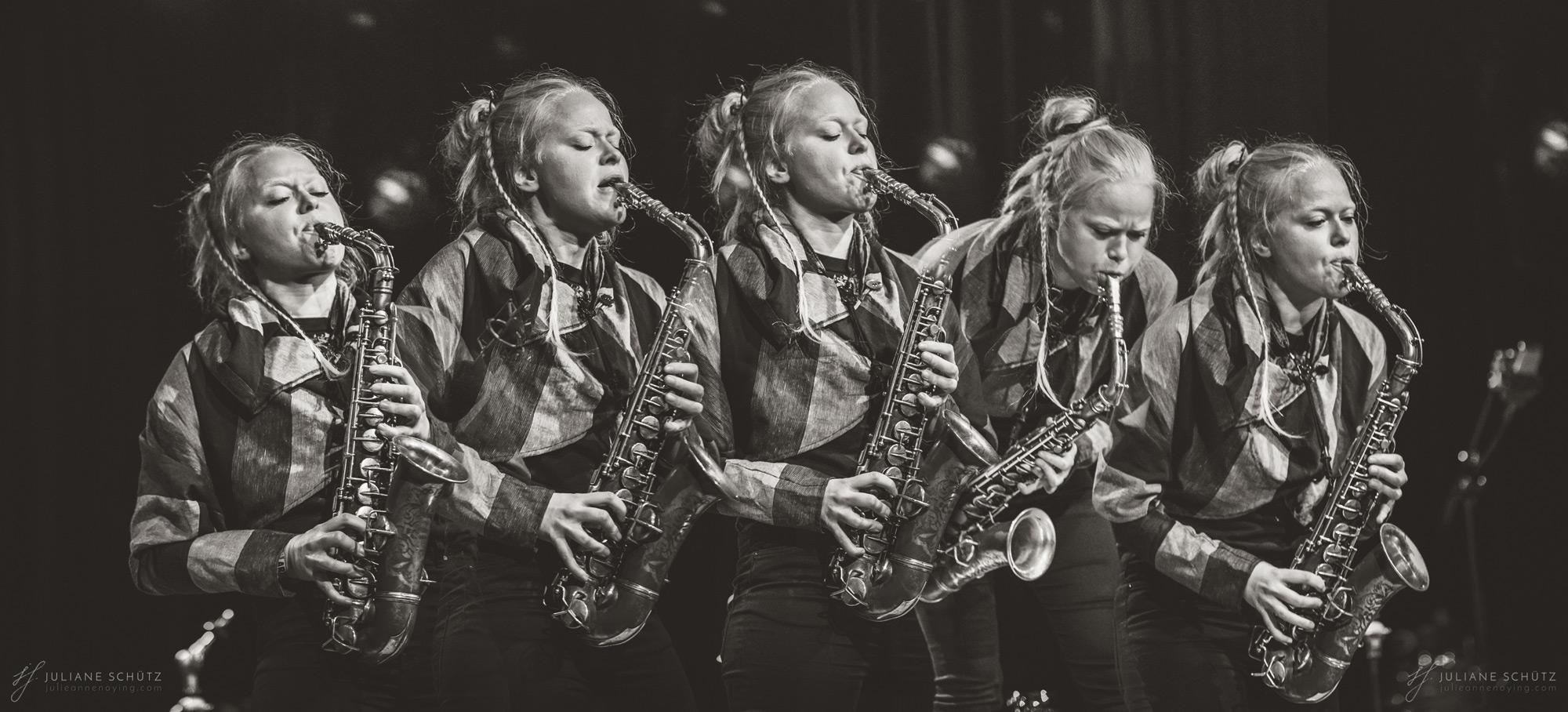 Mette Rasmussen @ Jazzfest 2019 | © Juliane Schütz